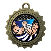 "3"" Arm Wrestle Medal"