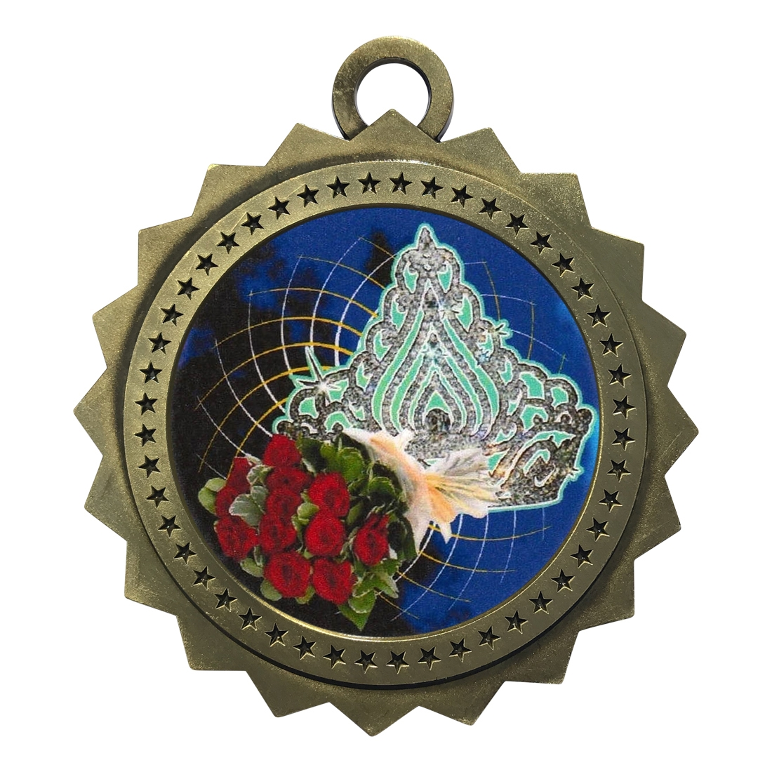 "3"" Beauty Queen Medal"
