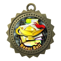 "3"" Honor Roll Medal"