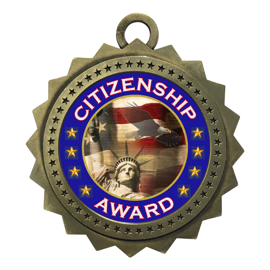 "3"" Citizenship Medal"