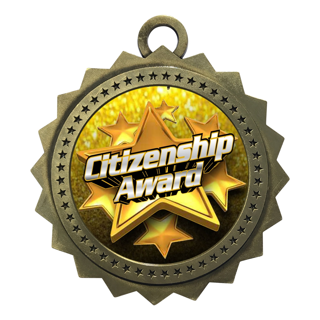 "3"" Citizenship Award Medal"
