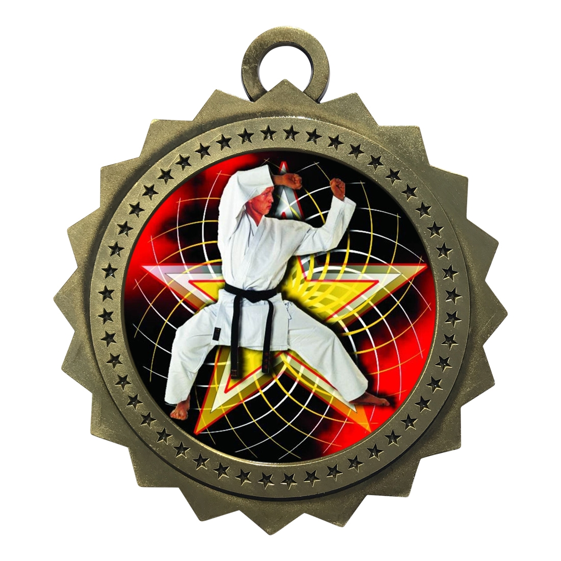 "3"" Martial Arts Karate Medal"