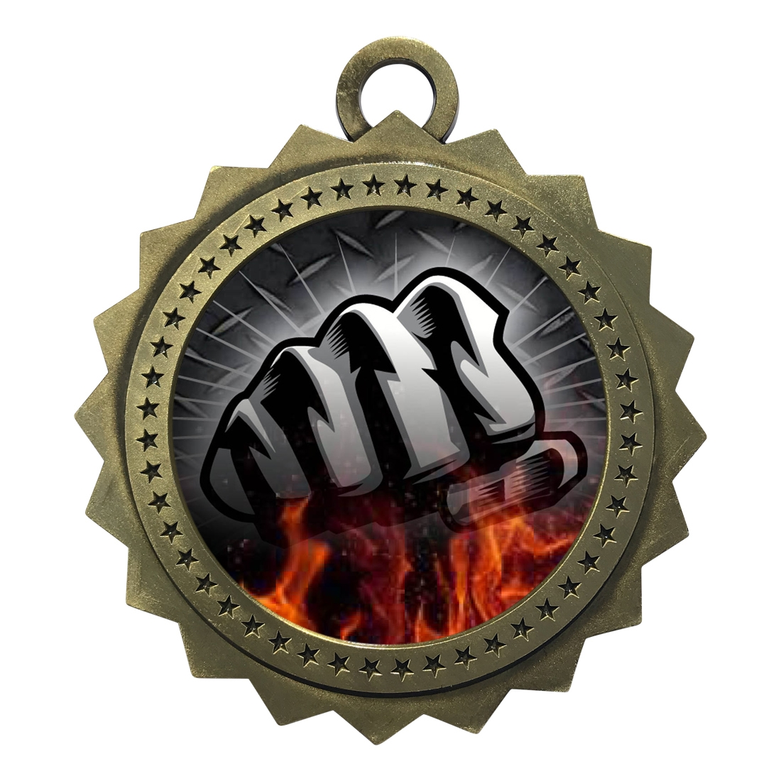 "3"" Martial Arts Fist Medal"