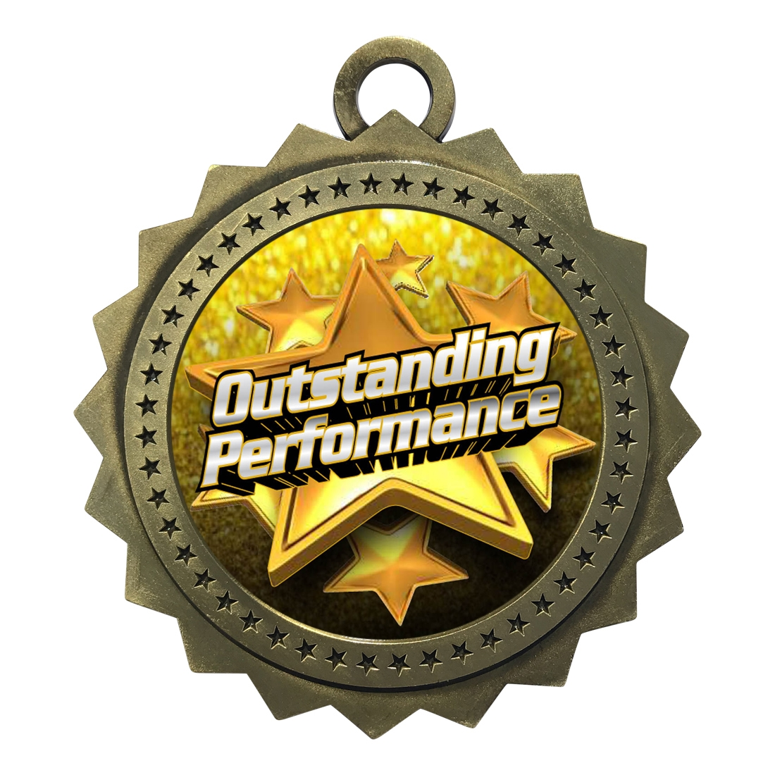 "3"" Outstanding Performance Medal"