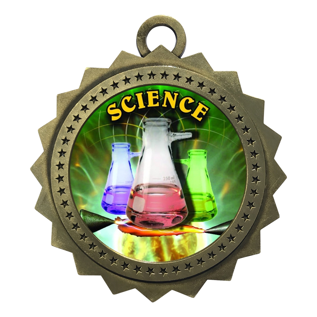 "3"" Science Medal"