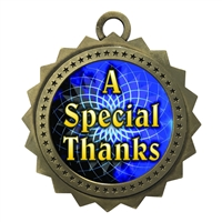"3"" Special Thanks Medal"