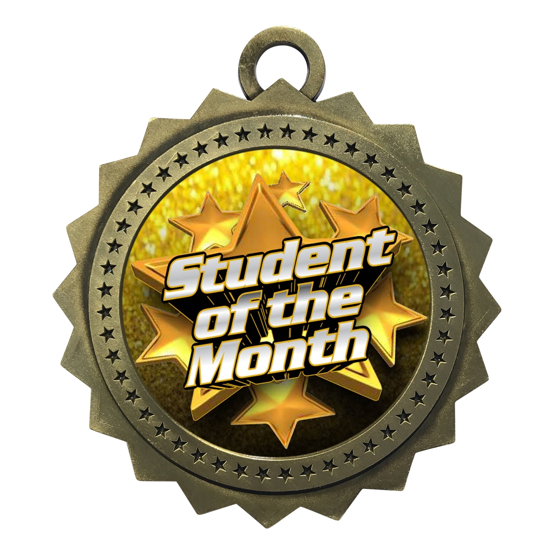 "3"" Student of the Month Medal"