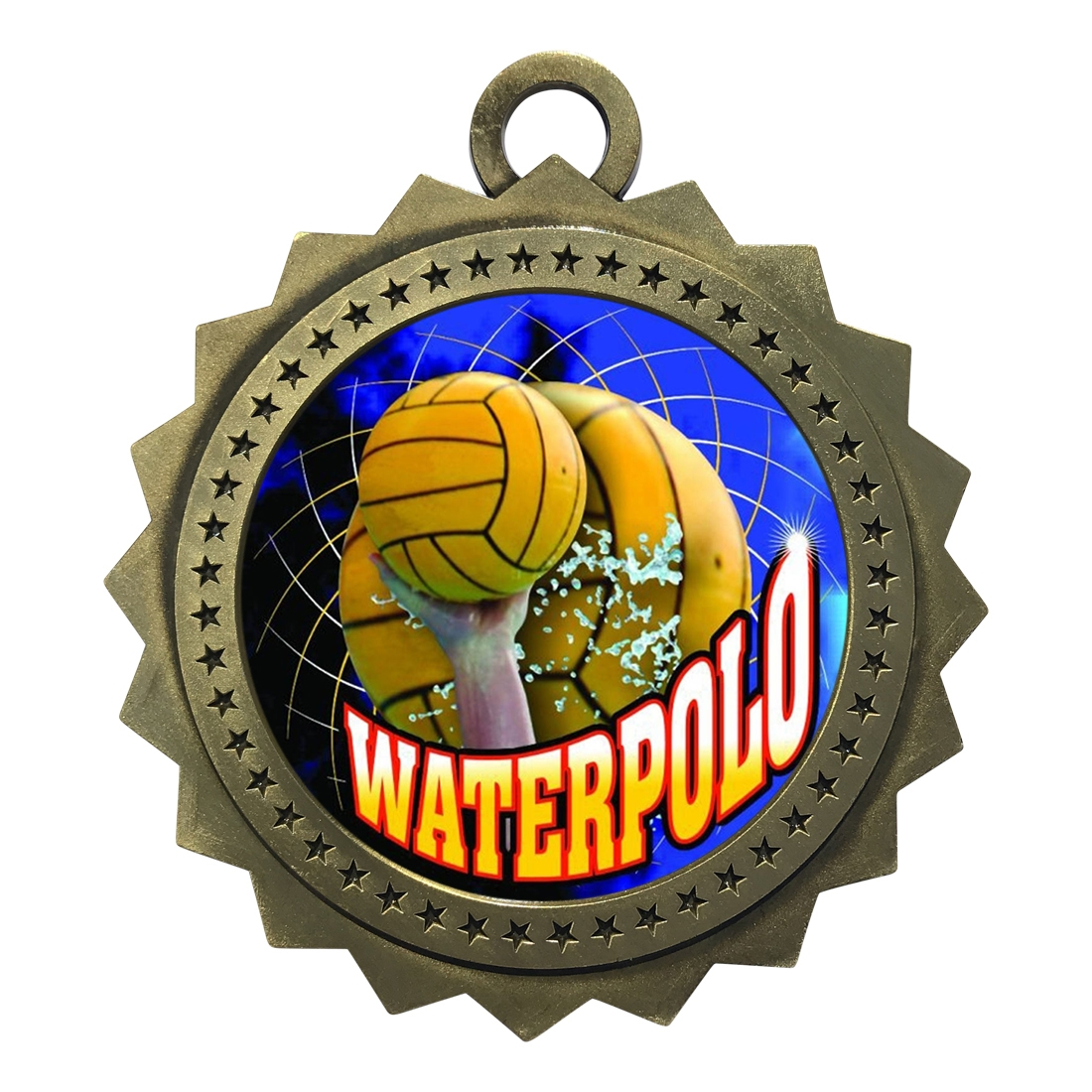 "3"" Waterpolo Medal"