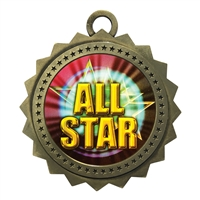 "3"" All Star Medal"