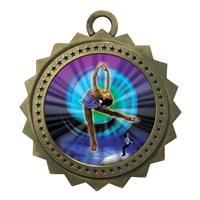 "3"" Figure Skating Medal"