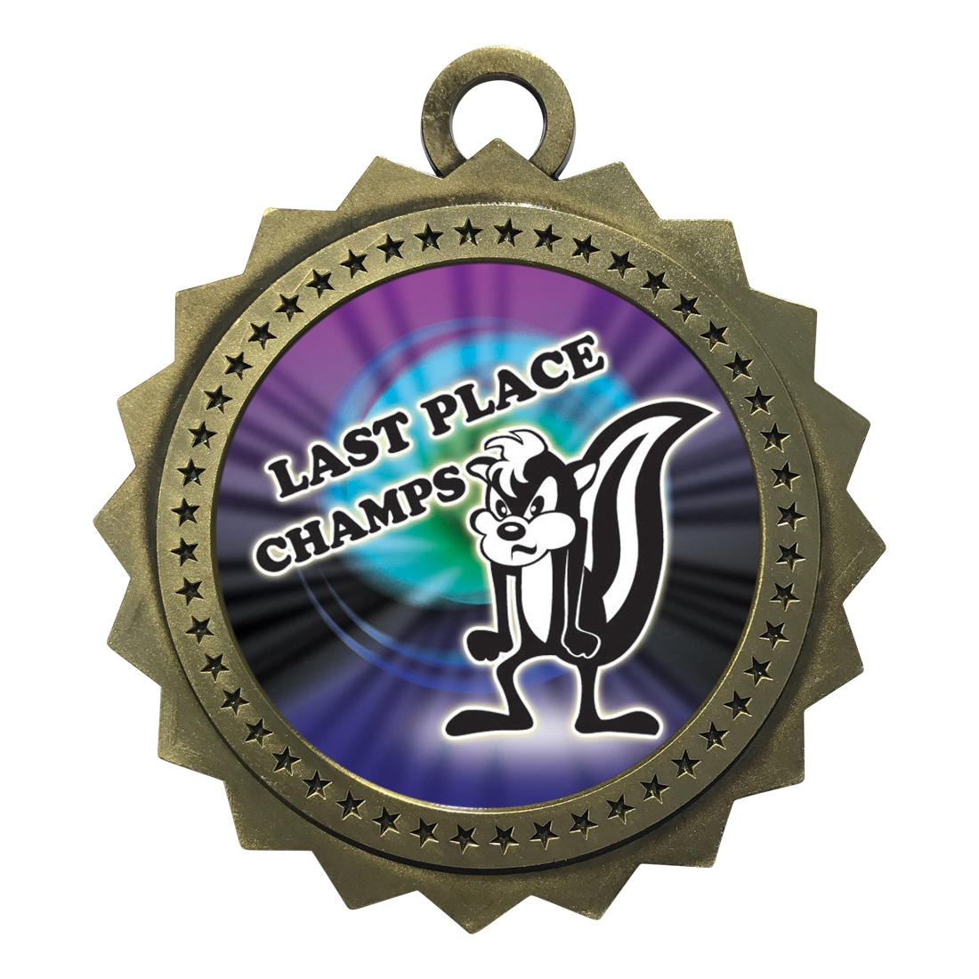 "3"" Last Place Loser Medal"