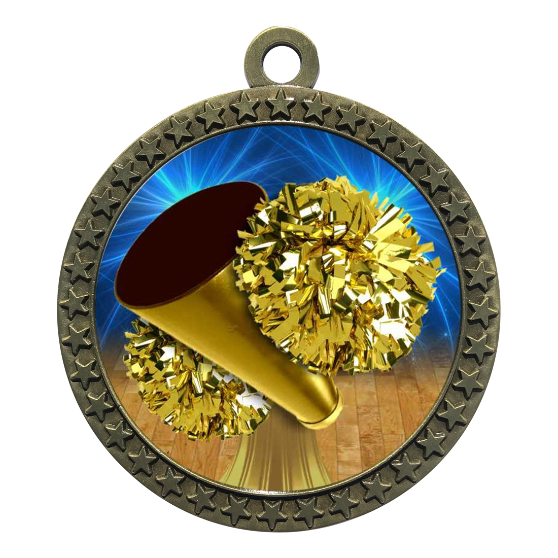 "2-1/2"" Cheerleading Medal"