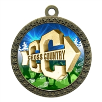 "2-1/2"" Cross Country Medal"