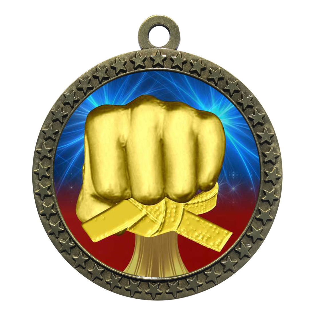 "2-1/2"" Martial Arts Medal"