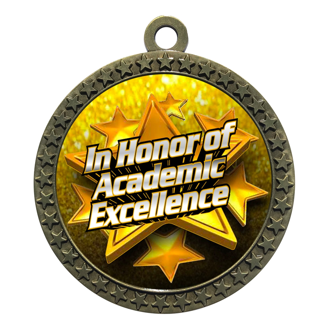 "2-1/2"" Academic Excellence Medal"