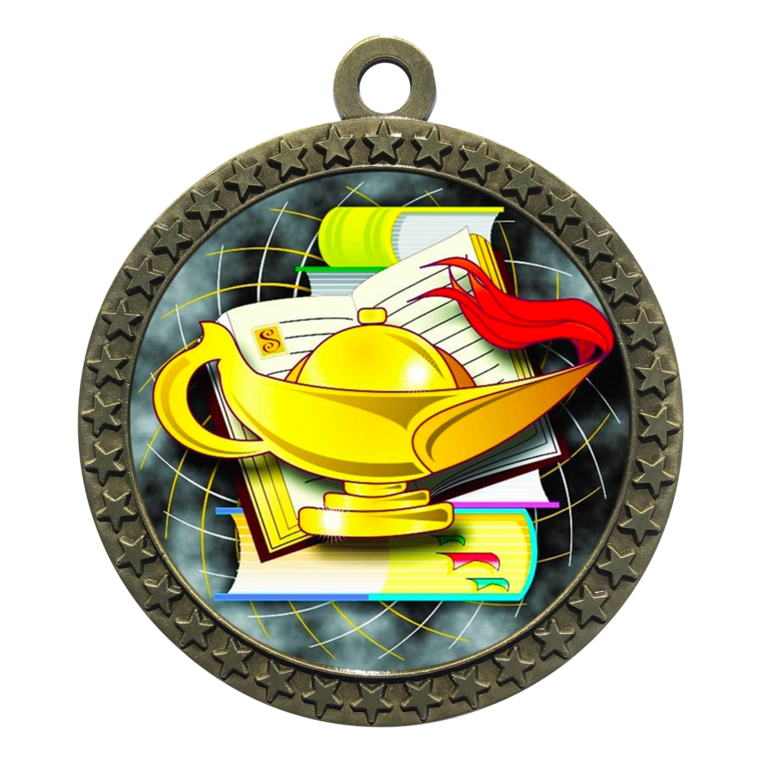 "2-1/2"" Lamp of Knowledge Medal"