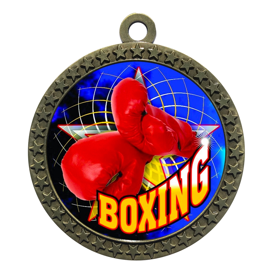 "2-1/2"" Boxing Medal"
