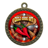 "2-1/2"" Chili Cook Off Medal"