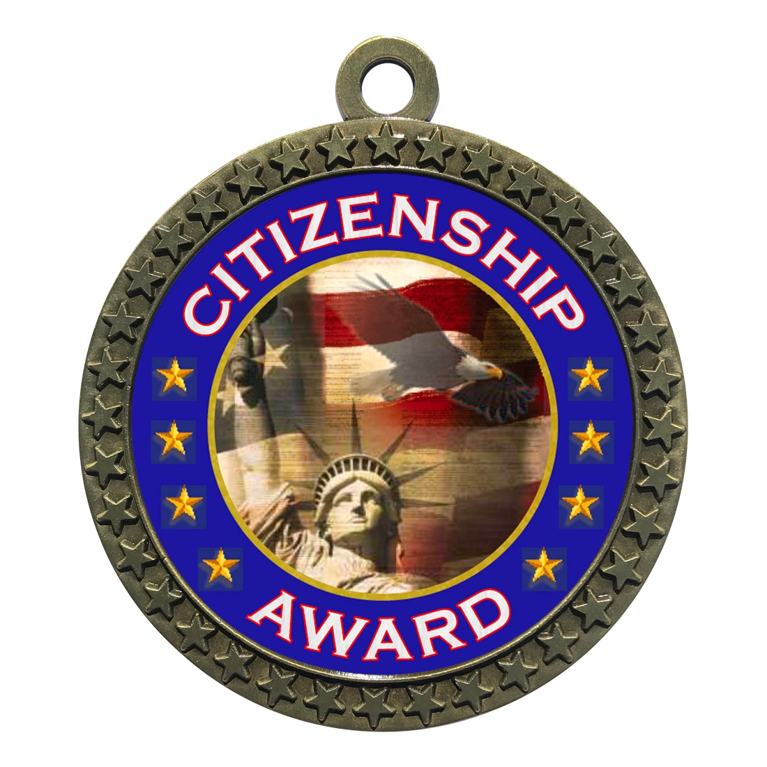"2-1/2"" Citizenship Medal"