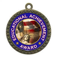 "2-1/2"" Educational Achievement Award Medal"