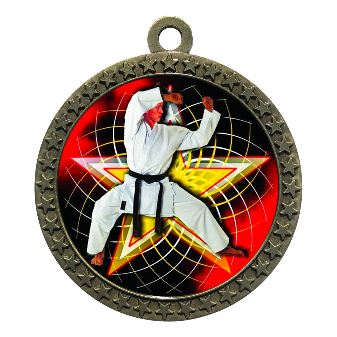 "2-1/2"" Martial Arts Karate Medal"