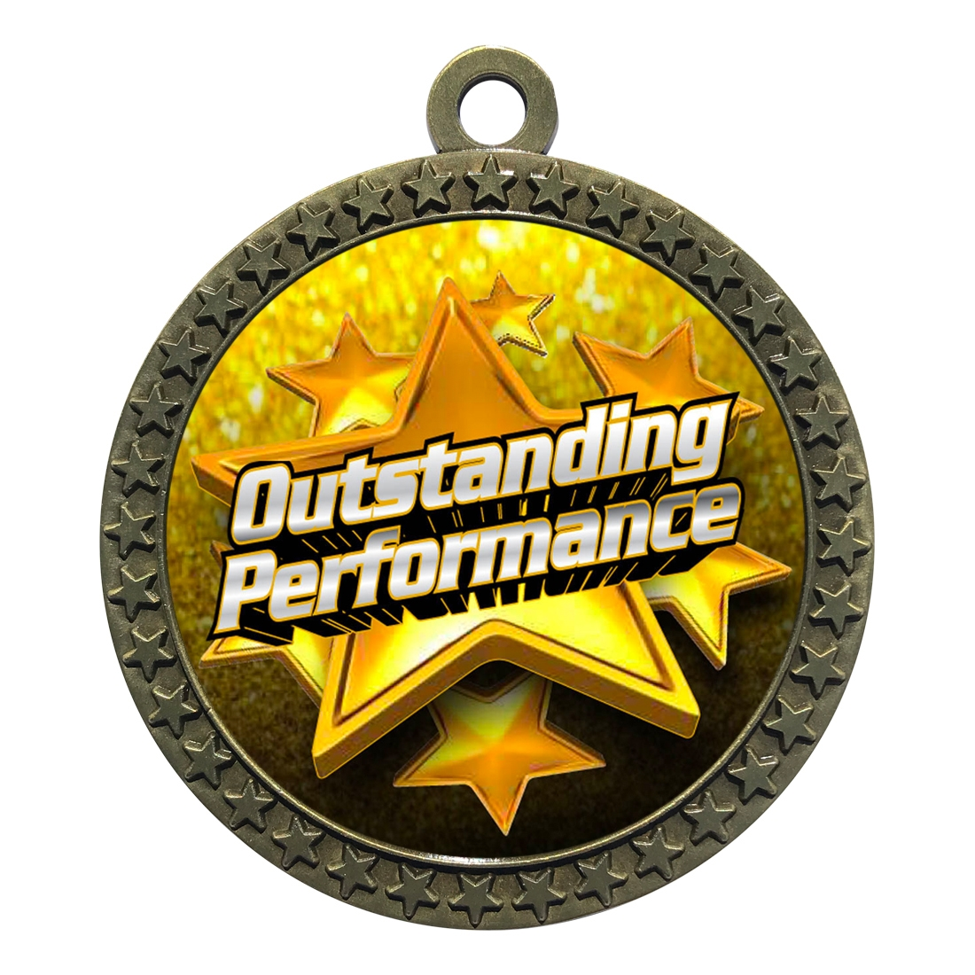 "2-1/2"" Outstanding Performance Medal"