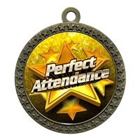 "2-1/2"" Perfect Attendance Medal"