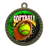 "2-1/2"" Softball Medal"
