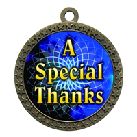 "2-1/2"" Special Thanks Medal"