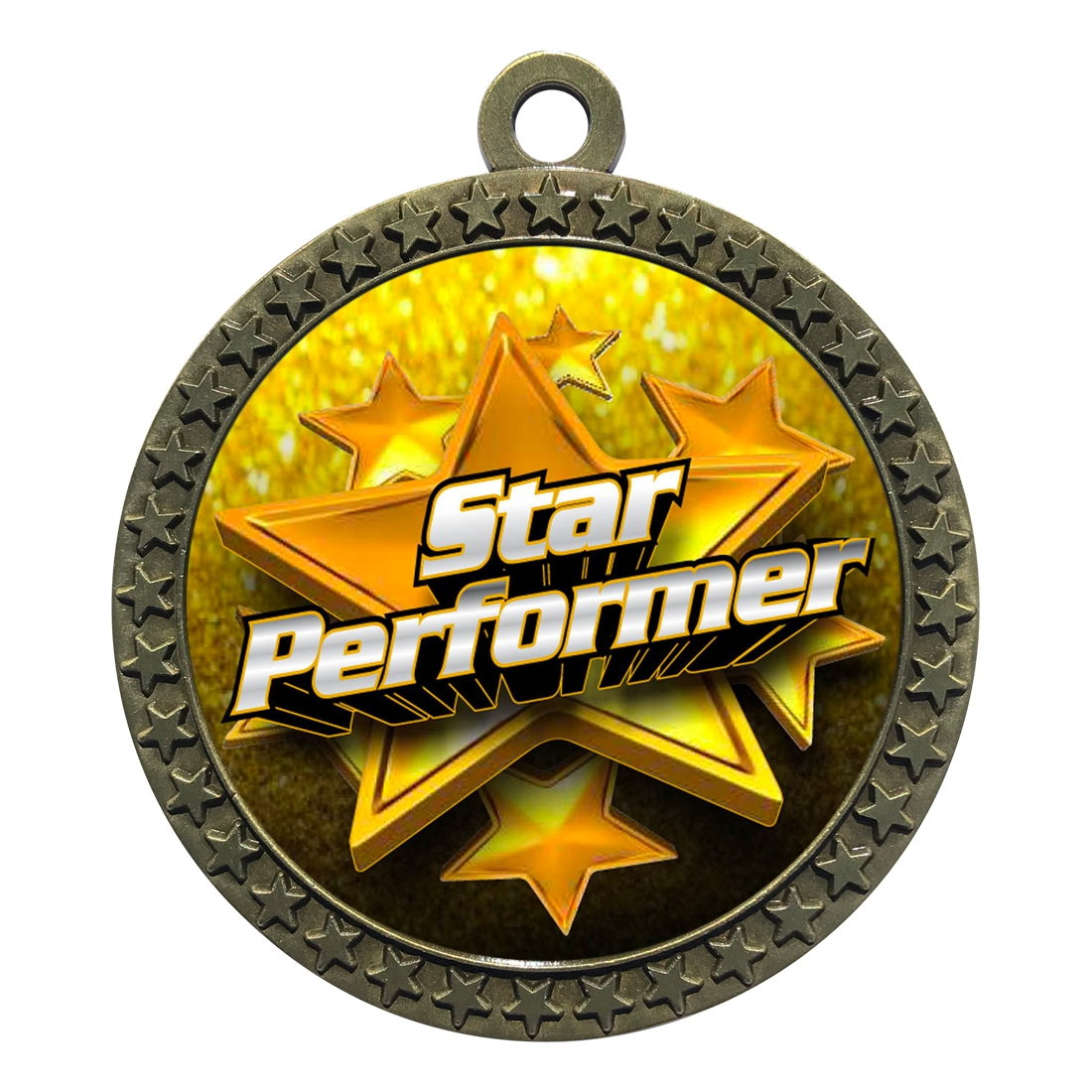 "2-1/2"" Star Performer Medal"
