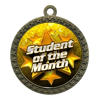 "2-1/2"" Student of the Month Medal"