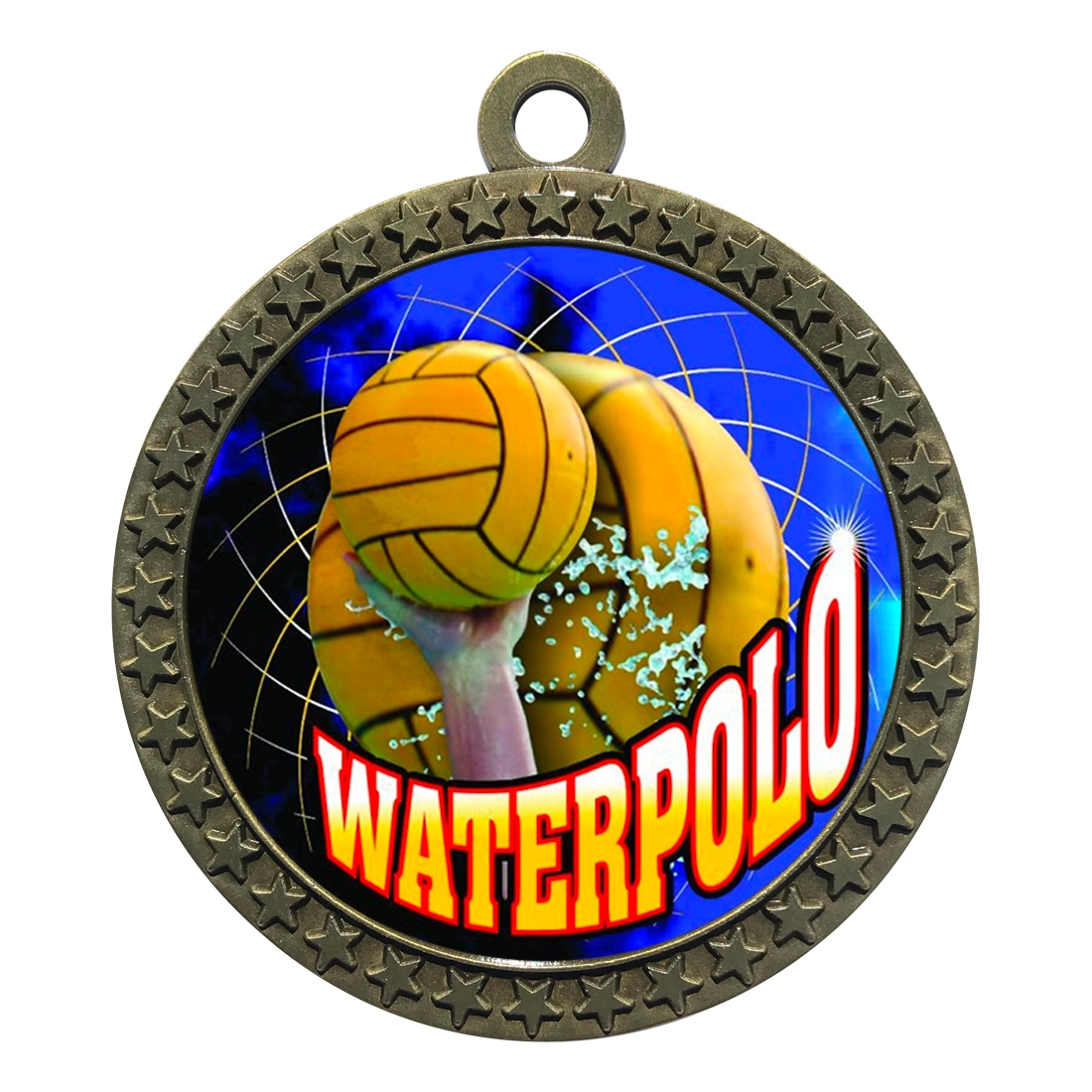"2-1/2"" Waterpolo Medal"