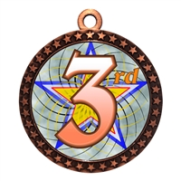 "2-1/2"" 3rd Place Medal"