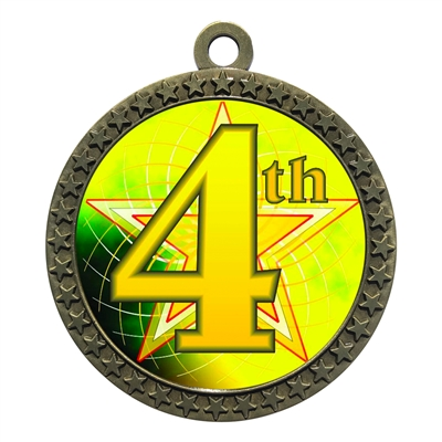 "2-1/2"" 4th Place Medal"