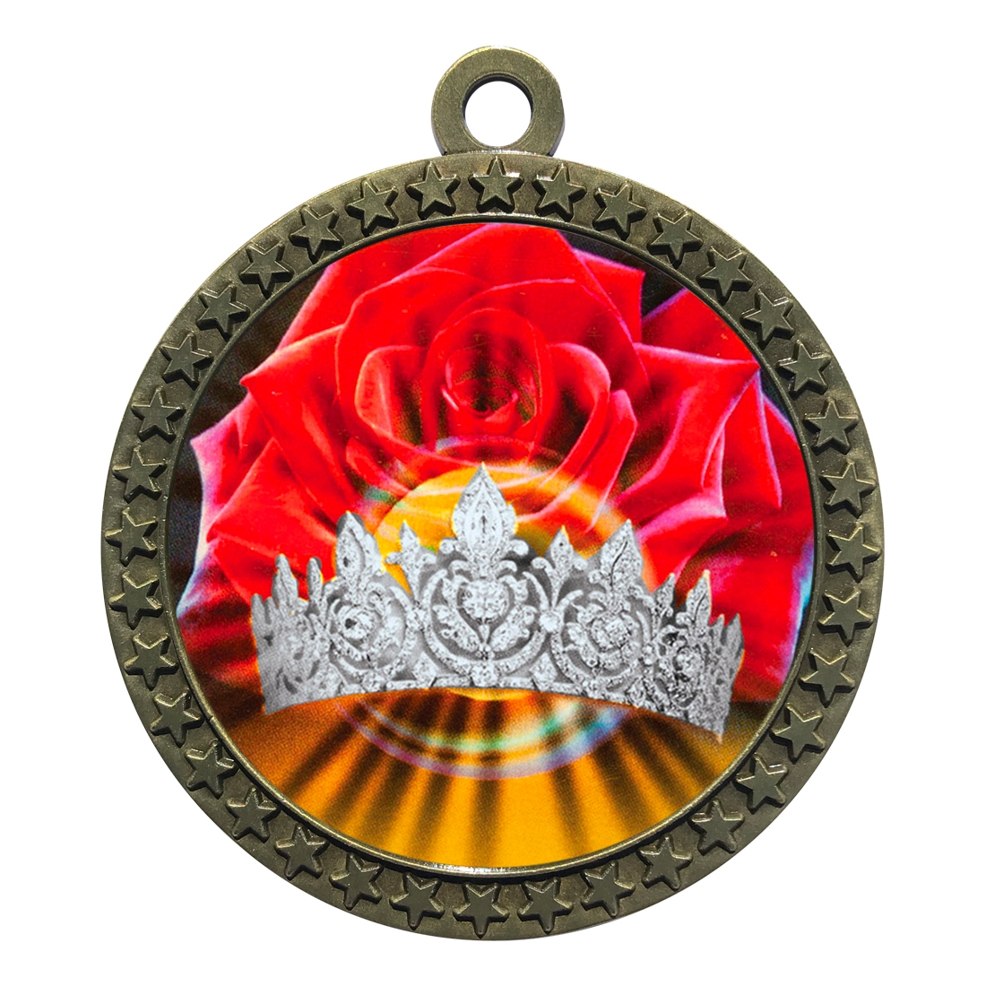 "2-1/2"" Beauty Queen Medal"