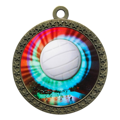 "2-1/2"" Volleyball Medal"