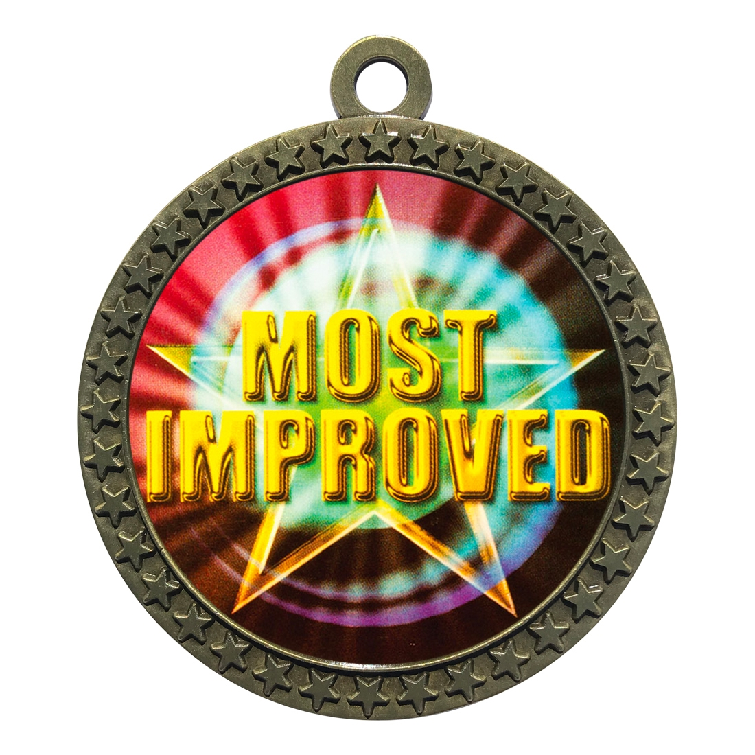 "2-1/2"" Most Improved Medal"