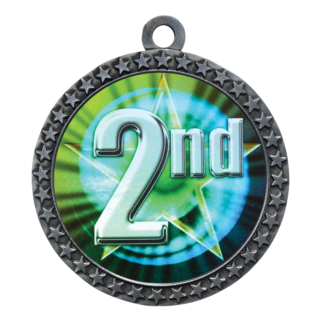 "2-1/2"" 2nd Place Medal"