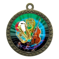 "2-1/2"" Band Orchestra Medal"