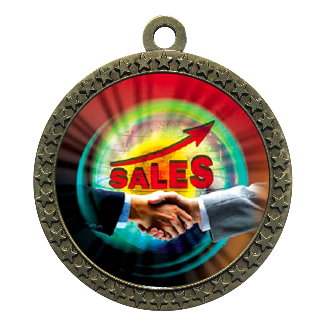 "2-1/2"" Top Sales Medal"