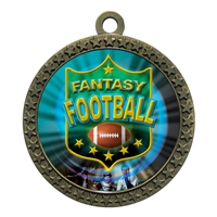 "2-1/2"" Fantasy Football Medal"