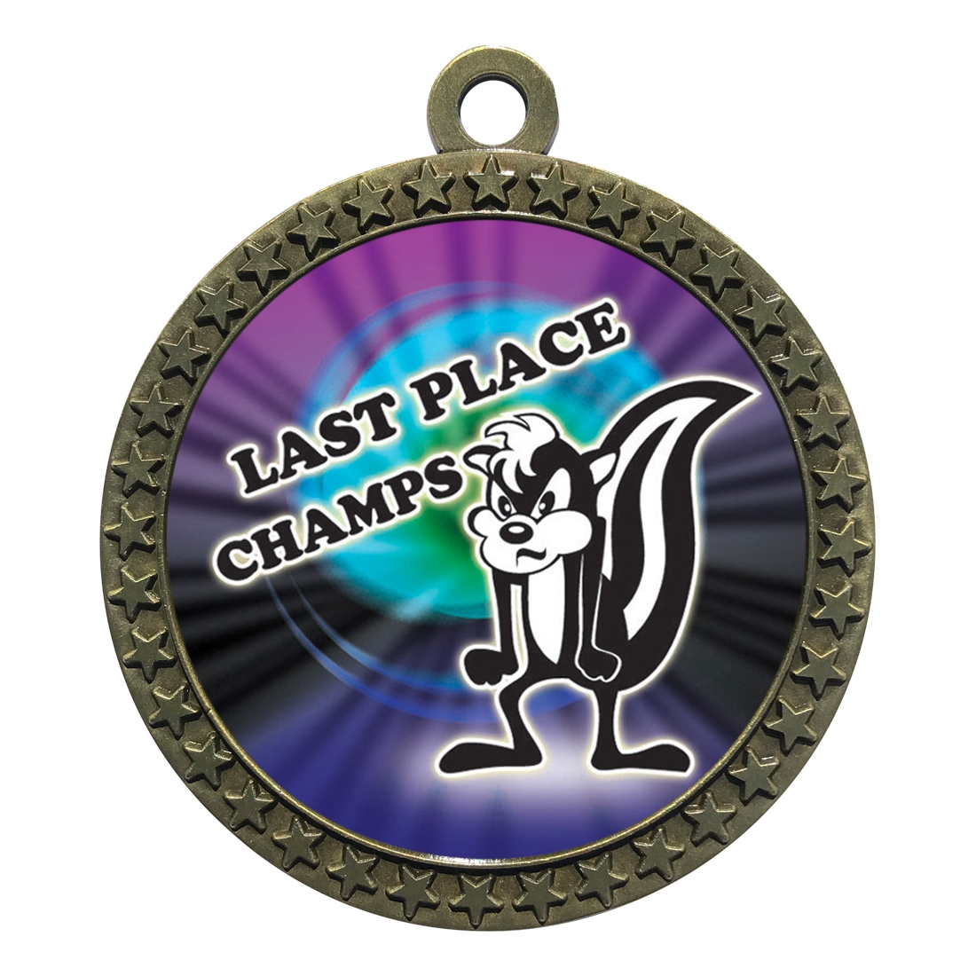 "2-1/2"" Last Place Loser Medal"