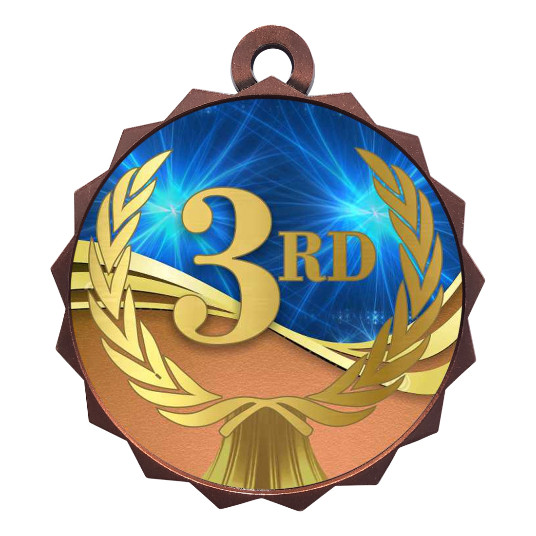 "2-1/4"" 3rd Place Medal"