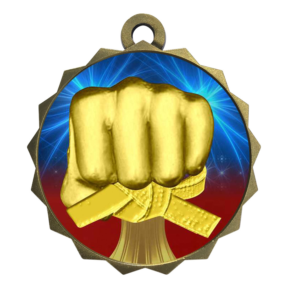 "2-1/4"" Martial Arts Medal"