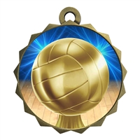 "2-1/4"" Volleyball Medal"