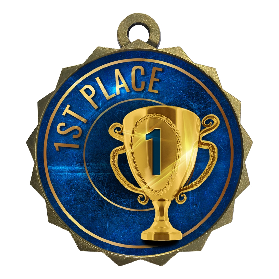 "2-1/4"" 1st Place Medal"