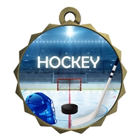 "2-1/4"" Ice Hockey Medal"