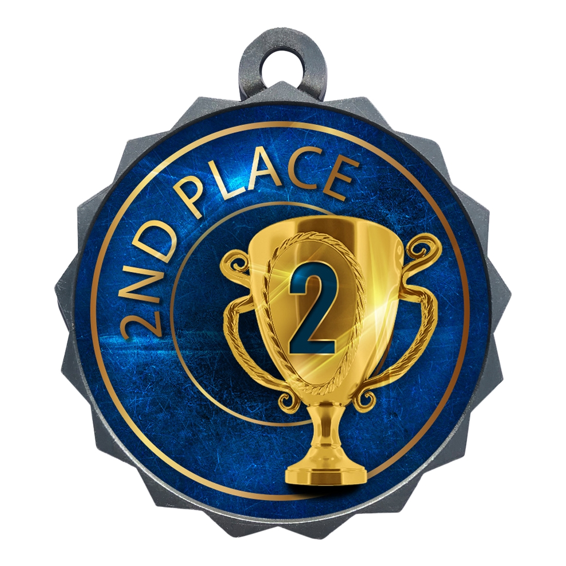 "2-1/4"" 2nd Place Medal"