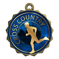 "2-1/4"" Cross Country Medal"