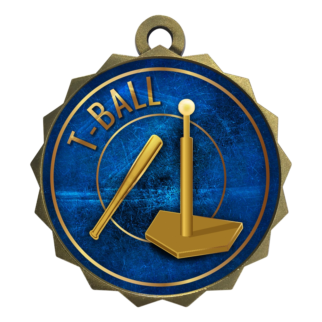 "2-1/4"" T Ball Tee Medal"
